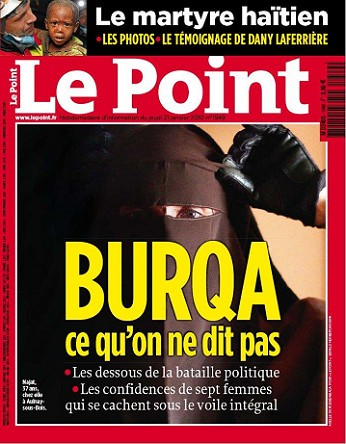 une le point burqa
