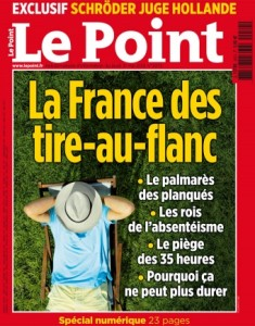 une le point france des tire-au-flanc