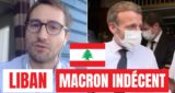 liban macron indecent
